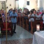 Transmissão da Santa Missa pelo o Portal Taperuaba.com foi um sucesso