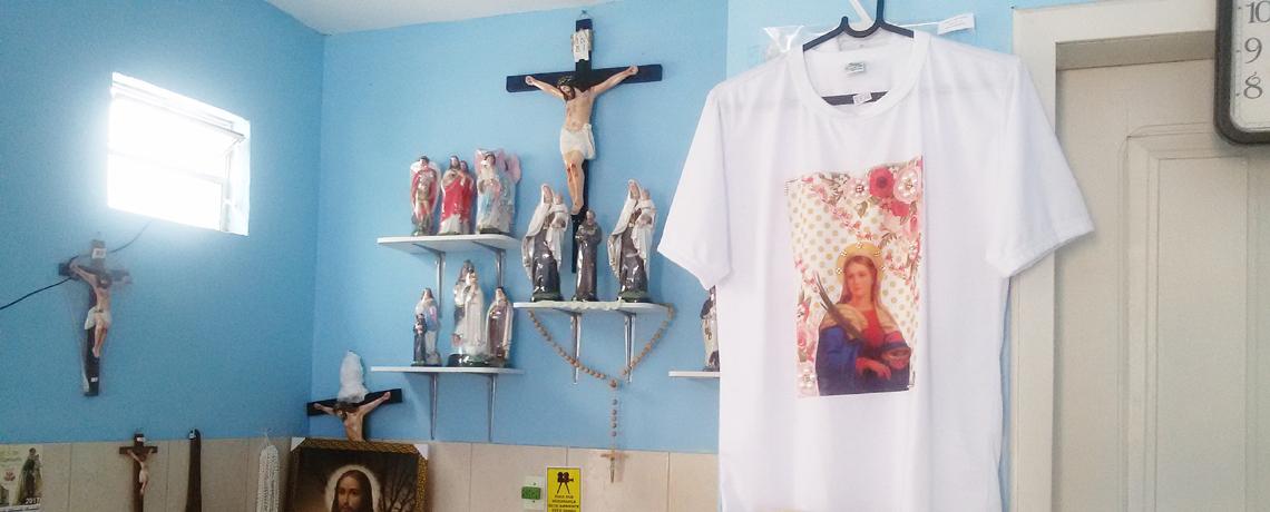 Lojinha Nossa Senhora do Carmo e Mini Gráfica Santa Maria