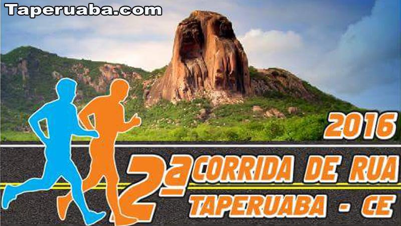 II Corrida de Rua Solidária de Taperuaba