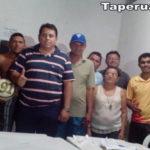 Representantes da 6° Copa Amigos da Bola estiveram ontem em Taperuaba