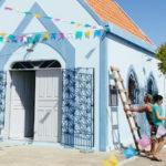 Taperuaba: Preparativos para a festa da Mãe Rainha