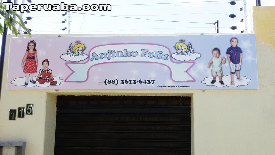Publicidade Anjinho Feliz Capa
