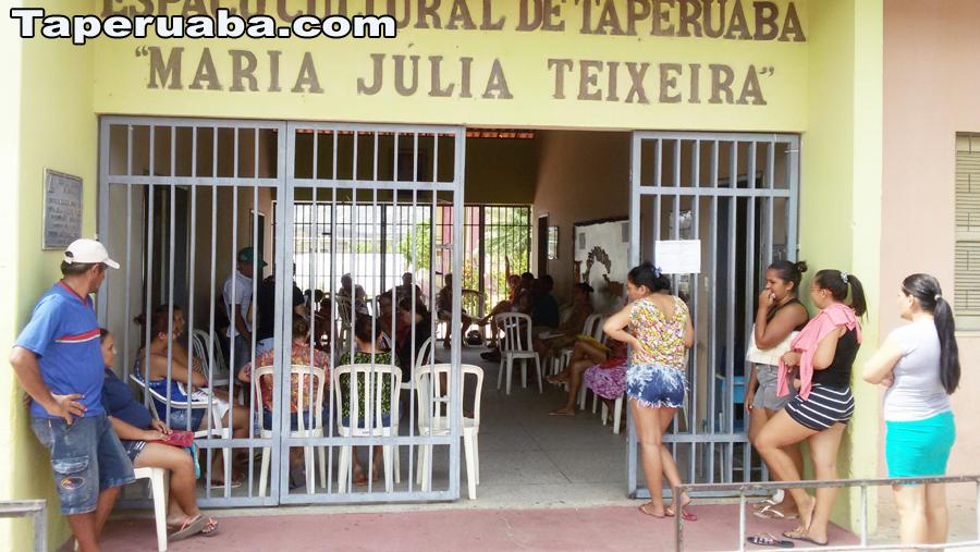 Recadastramento bolsa família Taperuaba