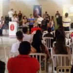 Taperuaba: Retiro anual da Comunidade Católica Renascer em Cristo
