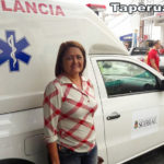 PSF de Taperuaba ganha ambulância nova, a solicitação foi da vereadora Socorrinha Brasileiro