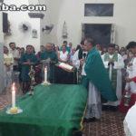 Missa marca posse do Padre Berg em Taperuaba