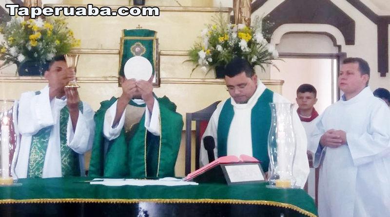 Primeira celebração Padre elmir