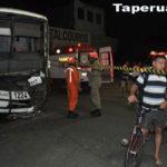 Acidente entre ônibus deixa vários feridos em Fortaleza