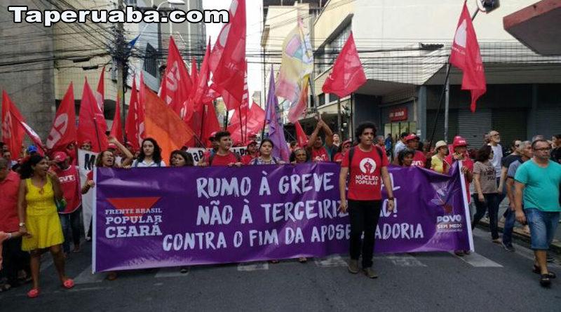 Manifestação - Fortaleza