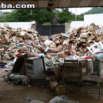Taperuaba: Deposito de lixo reciclável próximo a uma escola choca comunidade estudantil