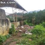 Parte do muro da Escola Cesário Barreto Lima desaba em Taperuaba