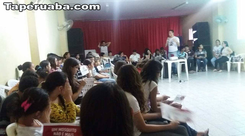 Escola Francisco Monte contra dengue