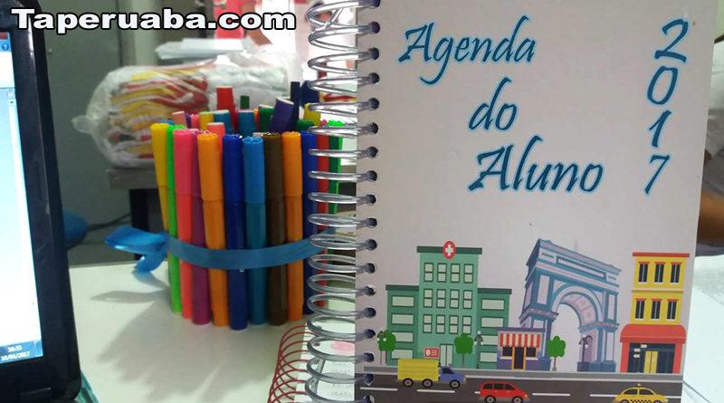 Fardamento e agenda Escola Franciscco Monte