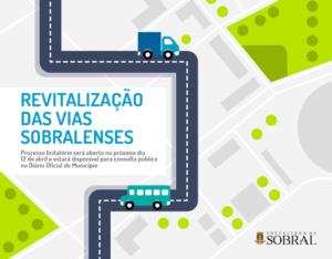 Revitalização vias municipais Sobral