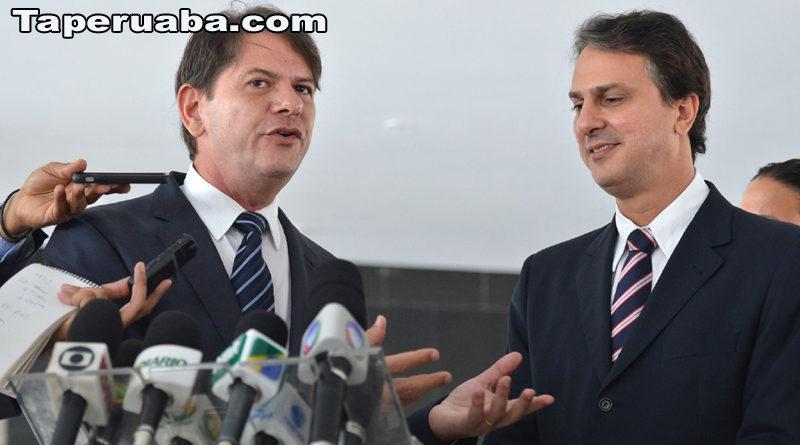 Cid Gomes e Camilo Santana