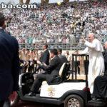 Perante líderes muçulmanos, papa pede fim da violência em nome de Deus