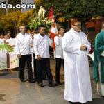 Taperuaba:  Procissão encerra os festejos de Nossa Senhora do Carmo