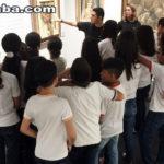 """Estudantes das escolas municipais de Sobral visitam exposição """"Um Século de Arte Brasileira"""""""