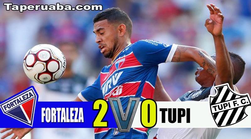 Fortaleza vence Tupí por 2 a 0