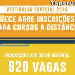 Uece abre inscrições para Vestibular de cursos à distância