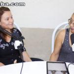 Conexão Taperuaba recebe a contadora de historia Claudinha Santos