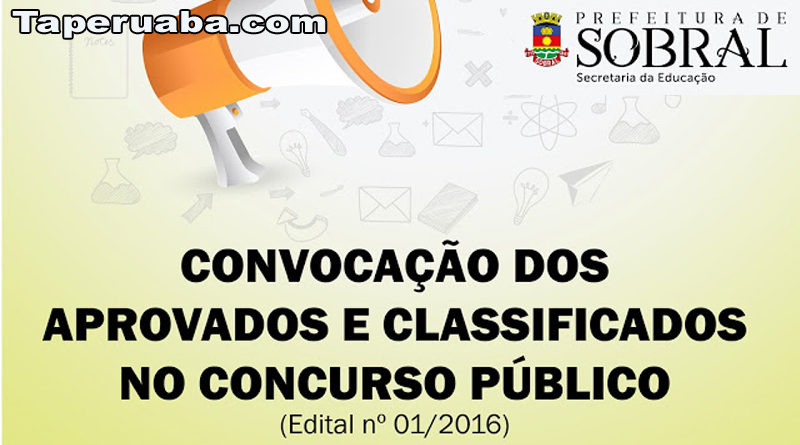 Concurso público em Sobral