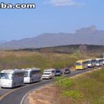 Taperuaba assiste a maior romaria de ônibus do Brasil