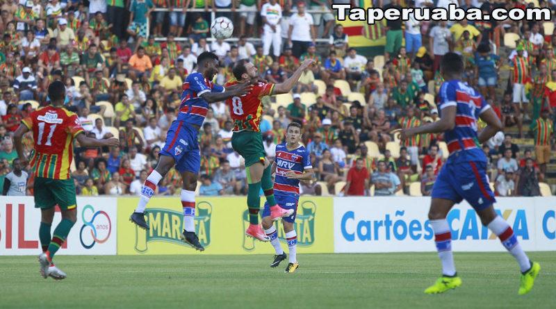 Sampaio Correa 2 X 2 Fortaleza