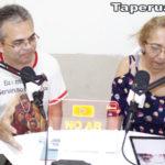 STC – Sistema Taperuabense de Comunicação recebe Cleilton Mendes Melo