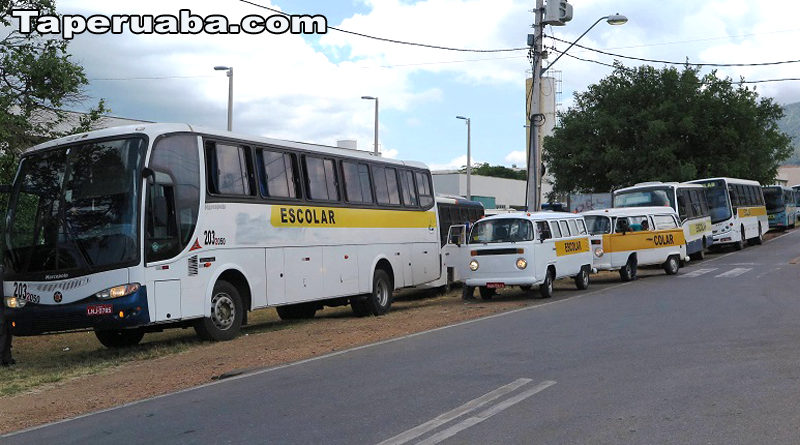 Greve no transportes escolar de Sobral