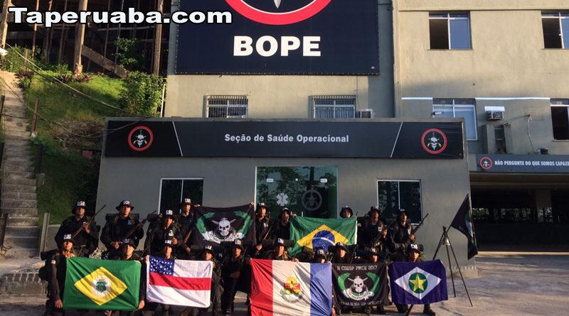 Policiais militares do ceará fazem treinamento no BOPE - Rio de Janeiro