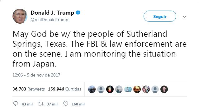 Trump lamenta