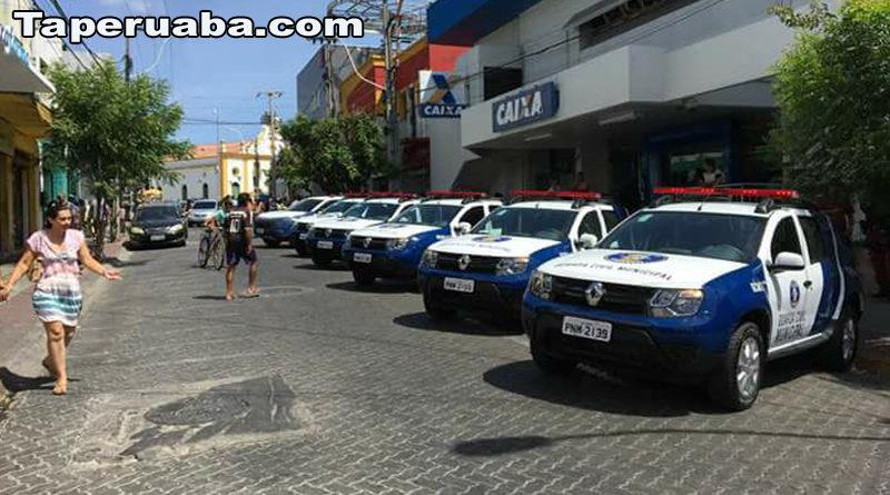 Novas viaturas da guarda municipal de Sobral
