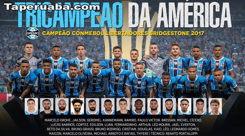 Grêmio Campeão da Libertadores