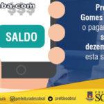 Prefeito Ivo Gomes antecipa o pagamento do salário de dezembro para esta sexta (29/12)