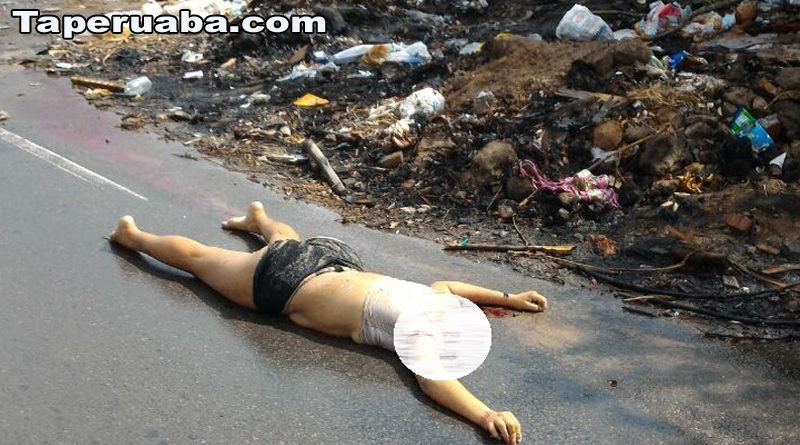 Mulher morta no Palemiras