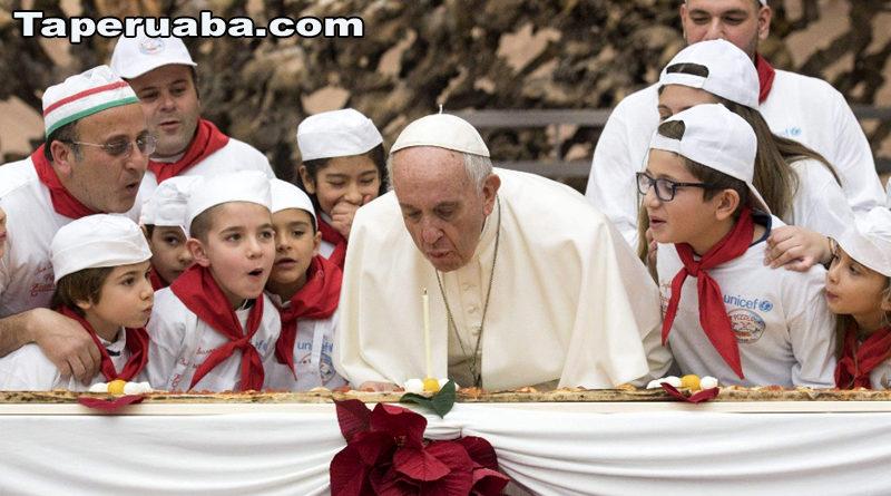 Papa Francisco Aniversário de 81 anos