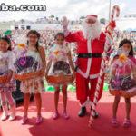 Papai Noel da Grendene fez a alegria de mais de 7.000 crianças neste domingo (10)