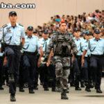 214 novos policiais militares chegaram a Sobral nesta segunda-feira
