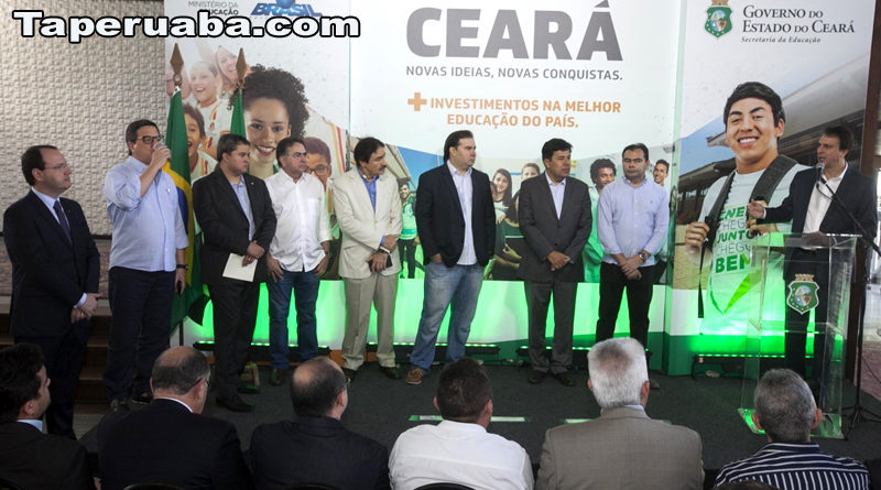 Camilo /santana e ministro da educação