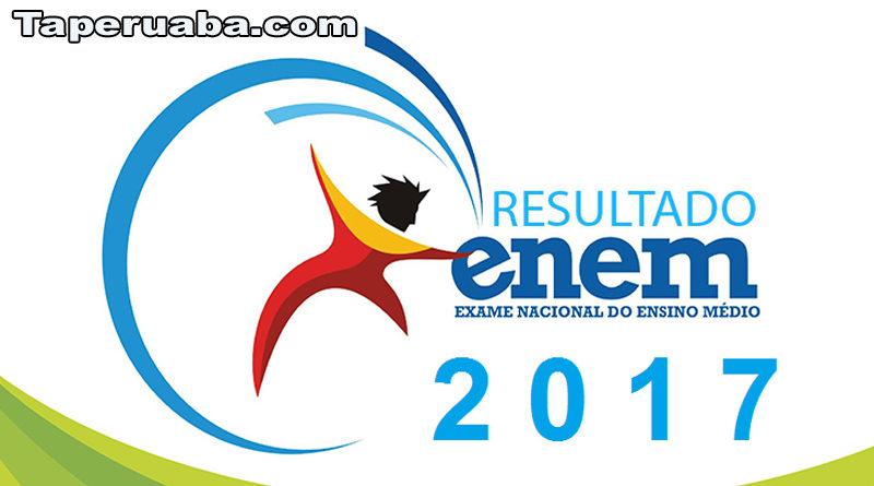 Resultado do ENEM 2017