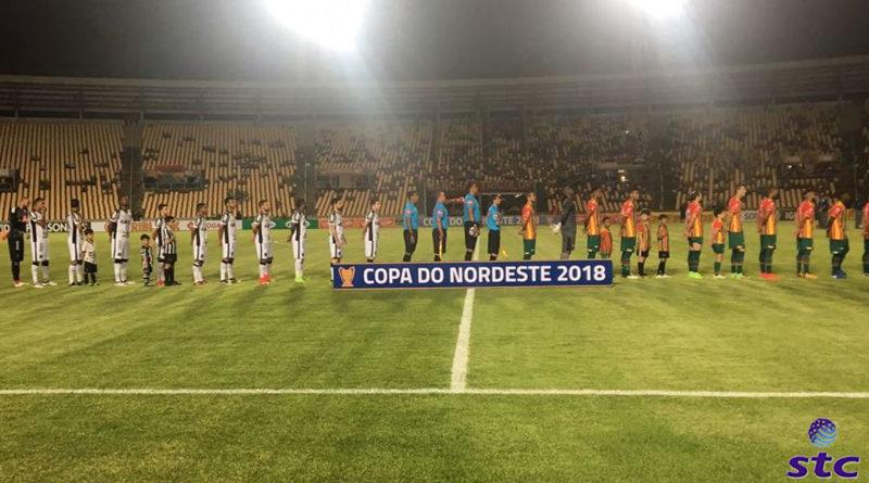 Ceará perde par ao Sampaio Corrêa