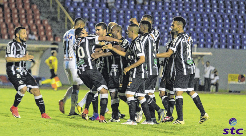 Ceará vence Londrina pela /copa do Brasil