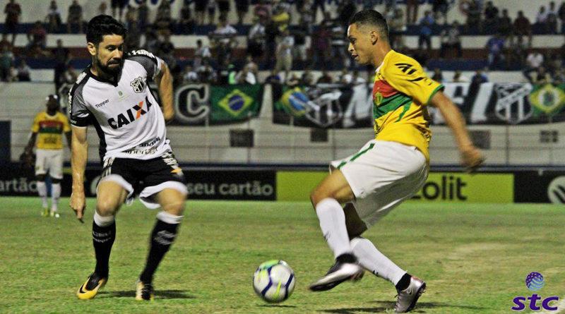 Ceará vence Brusque- SC pela a Copa do Brasil